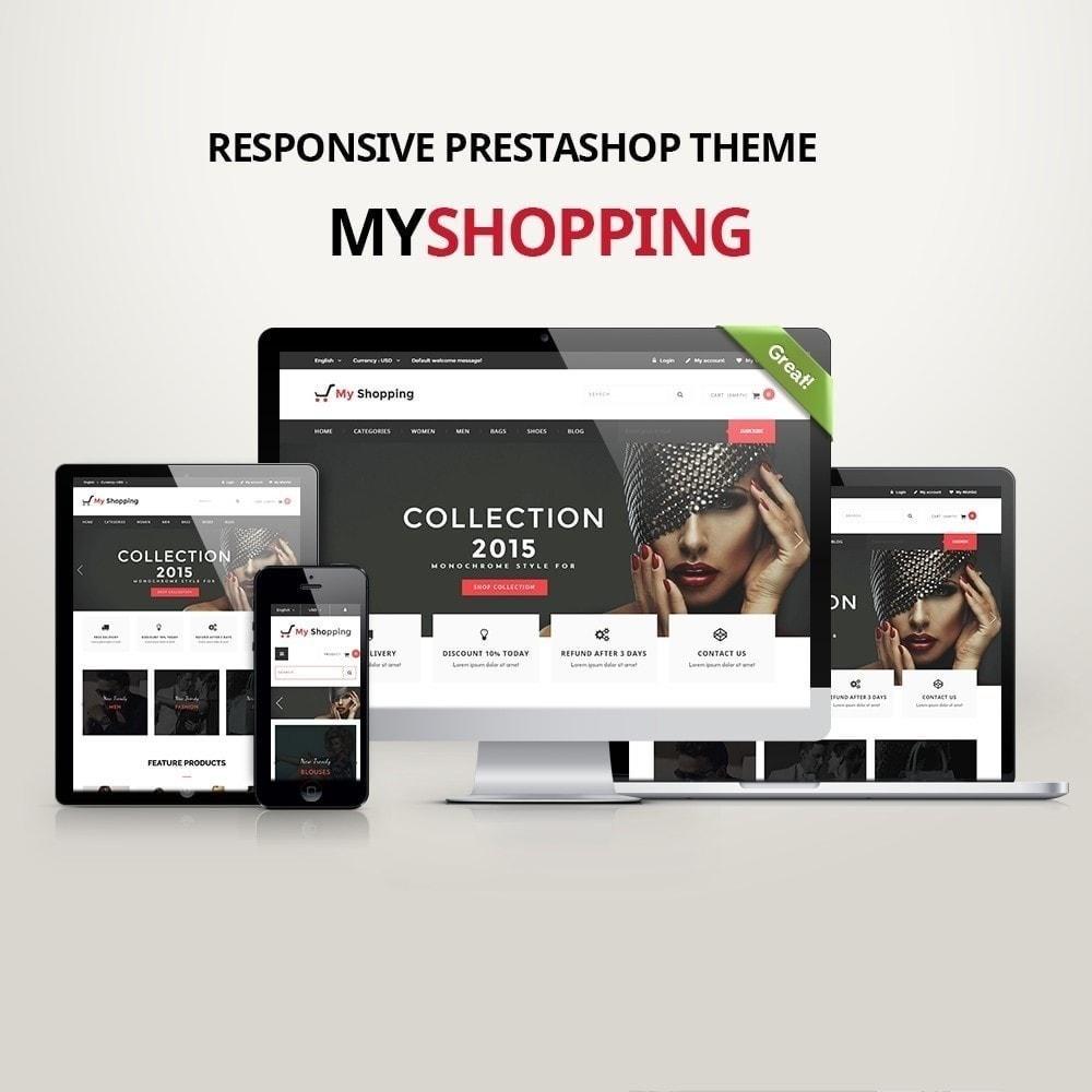 MyShopping Fashion Responsive