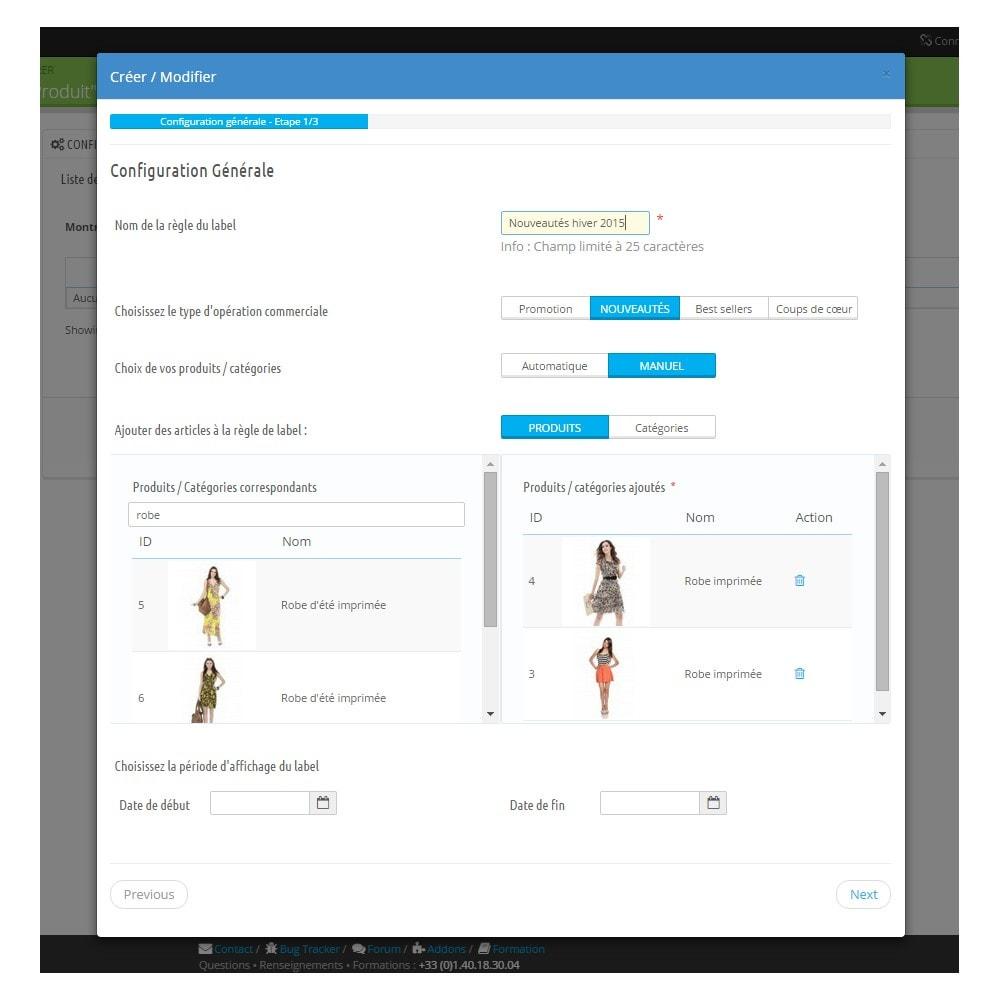 bundle - Les offres du moment - Faites des économies ! - Pack Ventes : Newsletter Mailchimp + Pop Promo + Label & Stickers personnalisables - 6