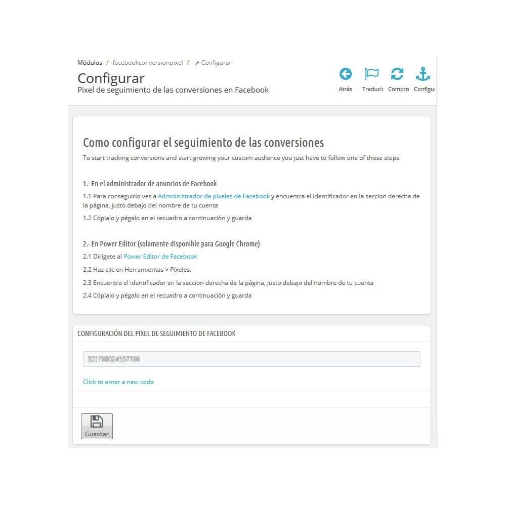 module - Remarketing y Carritos abandonados - Pixel de Conversión + Públicos Personalizados - 3