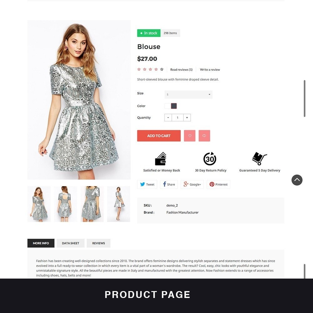 theme - Fashion & Shoes - MyShopping Fashion Responsive - 4
