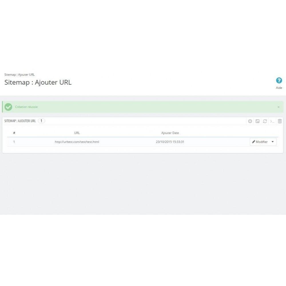 module - SEO (référencement naturel) - Sitemap Simple (Multiboutique, Multilangue et Blogs) - 13