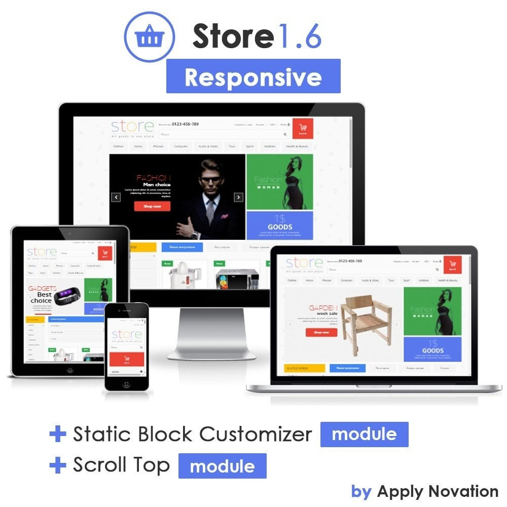 theme - Elektronika & High Tech - All Goods Strore 1.6 Responsive - 1