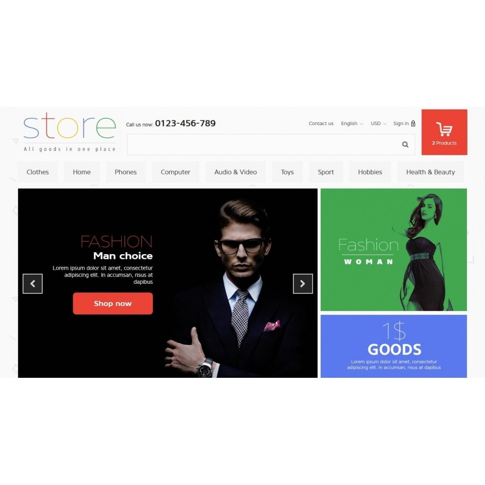 theme - Elektronika & High Tech - All Goods Strore 1.6 Responsive - 3