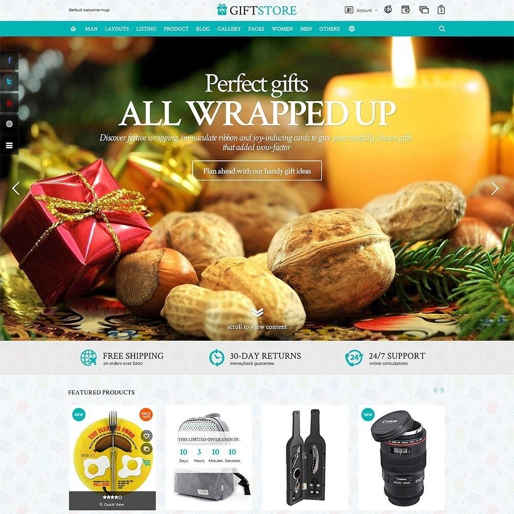 theme - Подарки, Цветы и праздничные товары - Gifts Store - 2