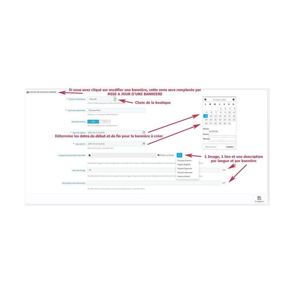 module - Blocs, Onglets & Bannières - Gestion multi bannières par date : aibanner - 3