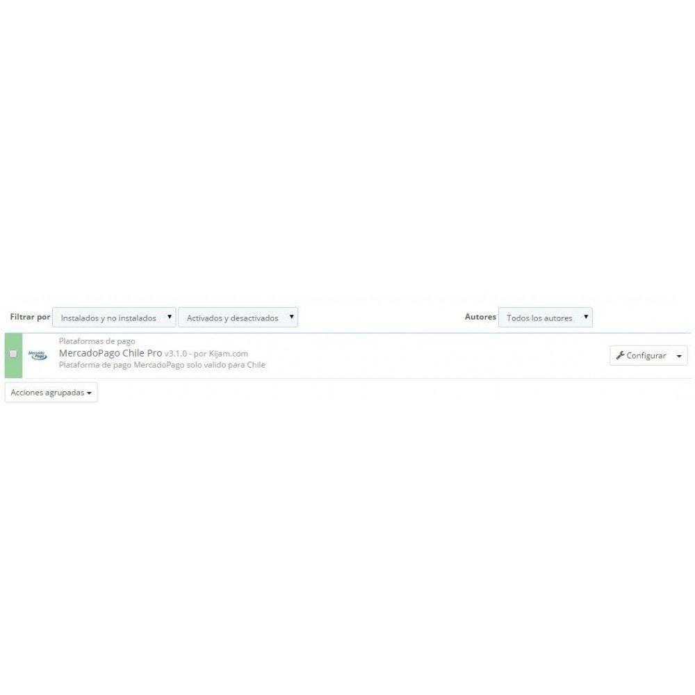 module - Pago con Tarjeta o Carteras digitales - MercadoPago y MercadoEnvios para Brasil - 1