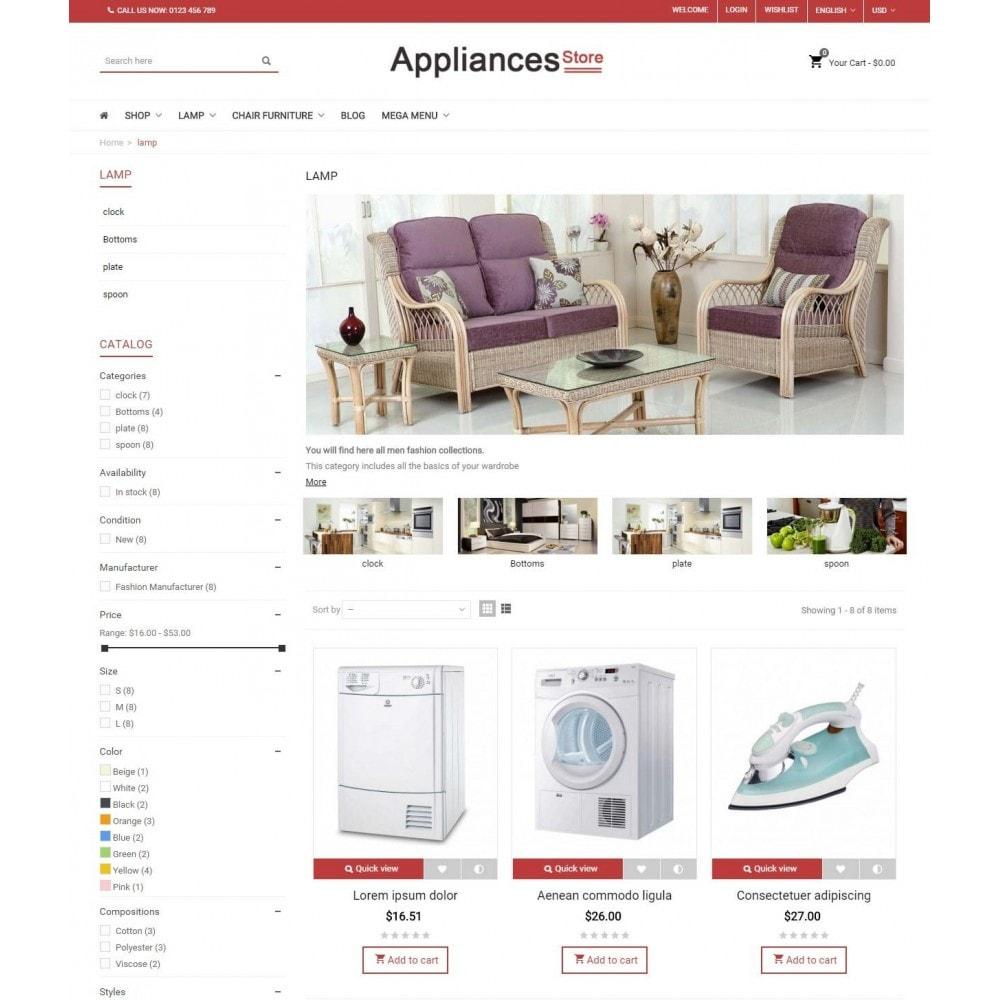 Appliances Store - Responsive Prestashop Theme