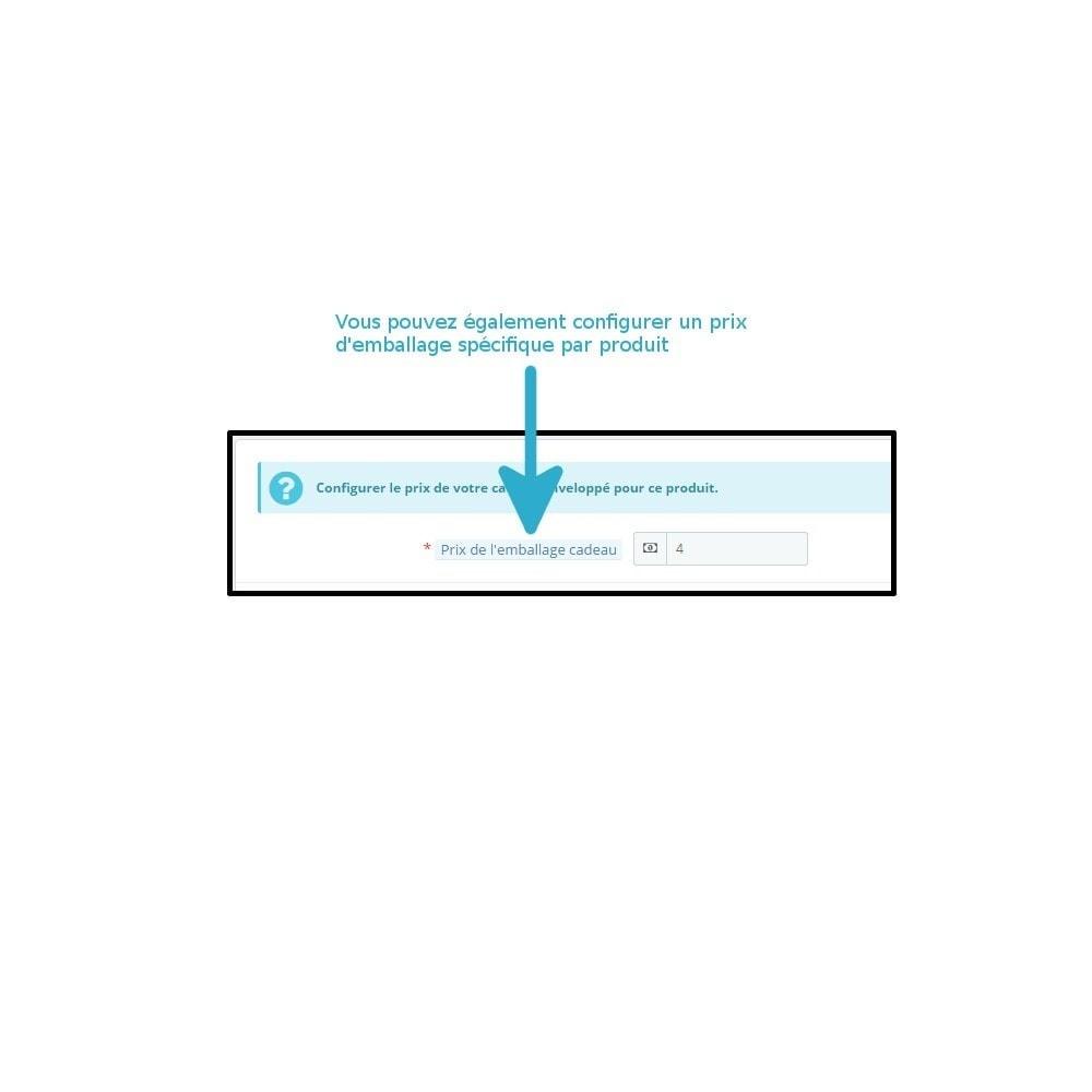 module - Inscription & Processus de commande - Emballage cadeau - 3