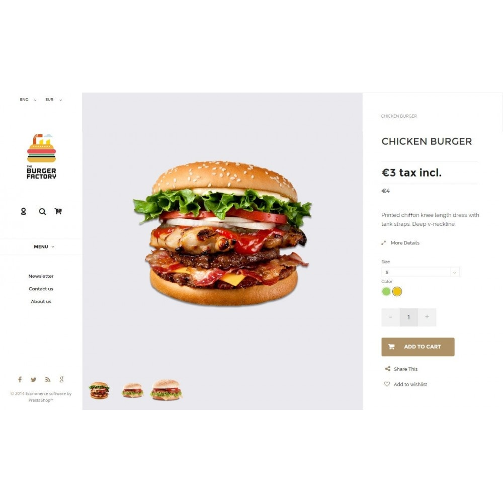 theme - Alimentos & Restaurantes - Restaurant Responsive - 3