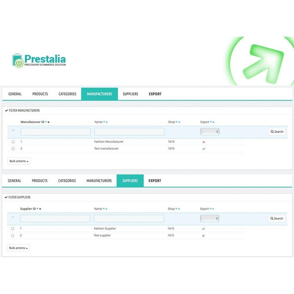 module - Preisvergleiche - Pricerunner - Export + Erweiterte Filter - 5