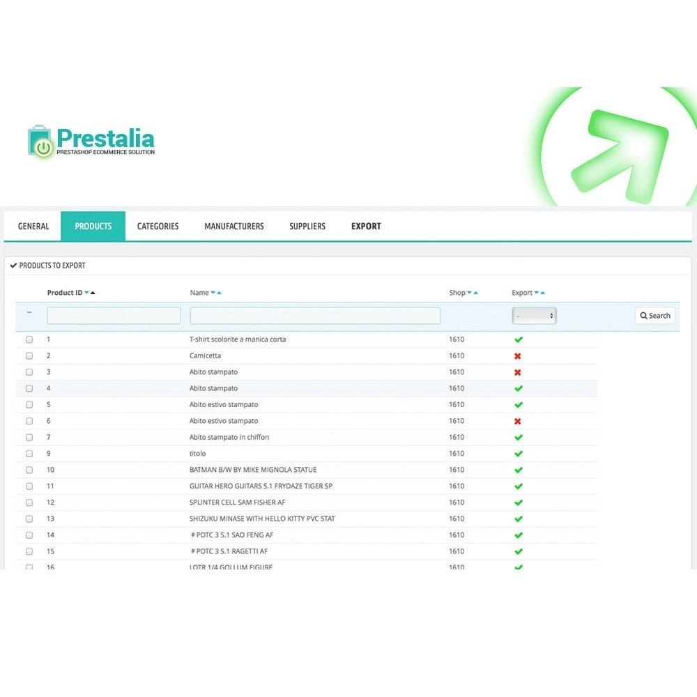 module - Porównywarki cen - Pricerunner - Eksport + Zaawansowane filtry - 3