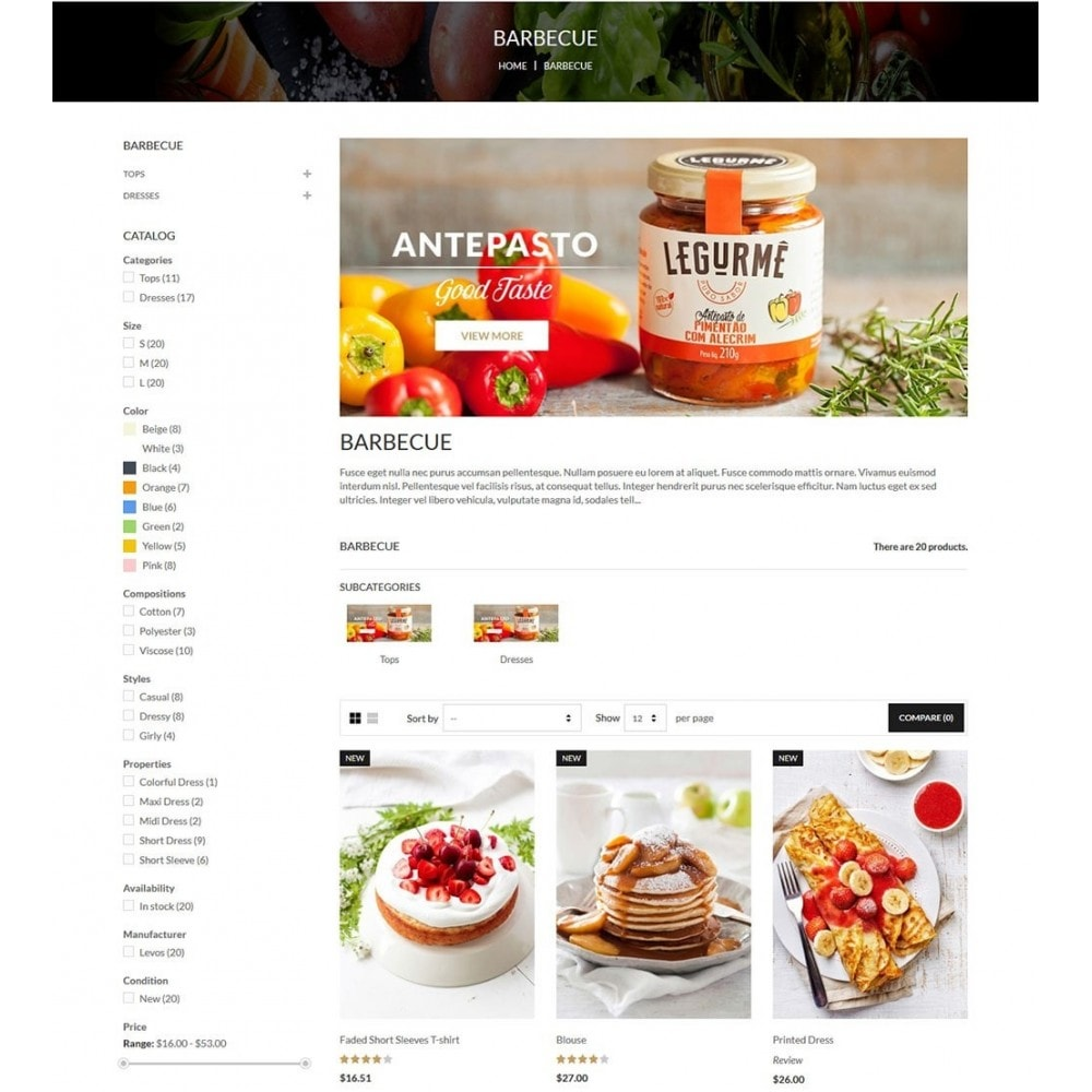 theme - Cibo & Ristorazione - Water Food Shop - 5