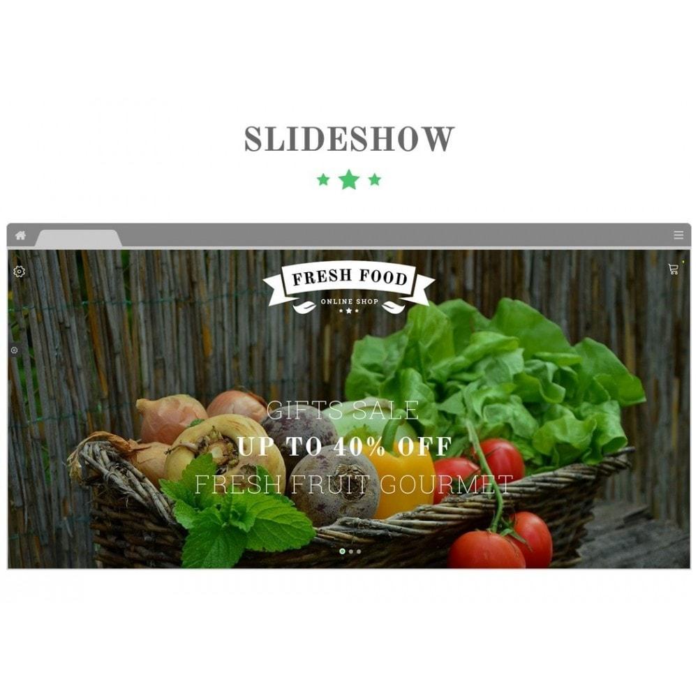 theme - Alimentation & Restauration - JMS FreshFood - 3