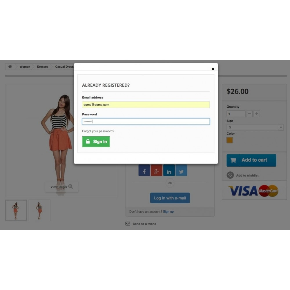module - Login/Connessione - Social Login Connect - 12