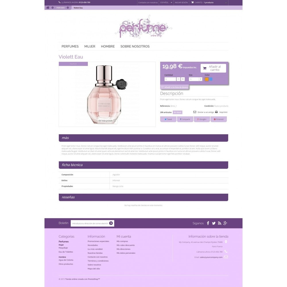 theme - Jewelry & Accessories - Perfume OnLine Shop - 3
