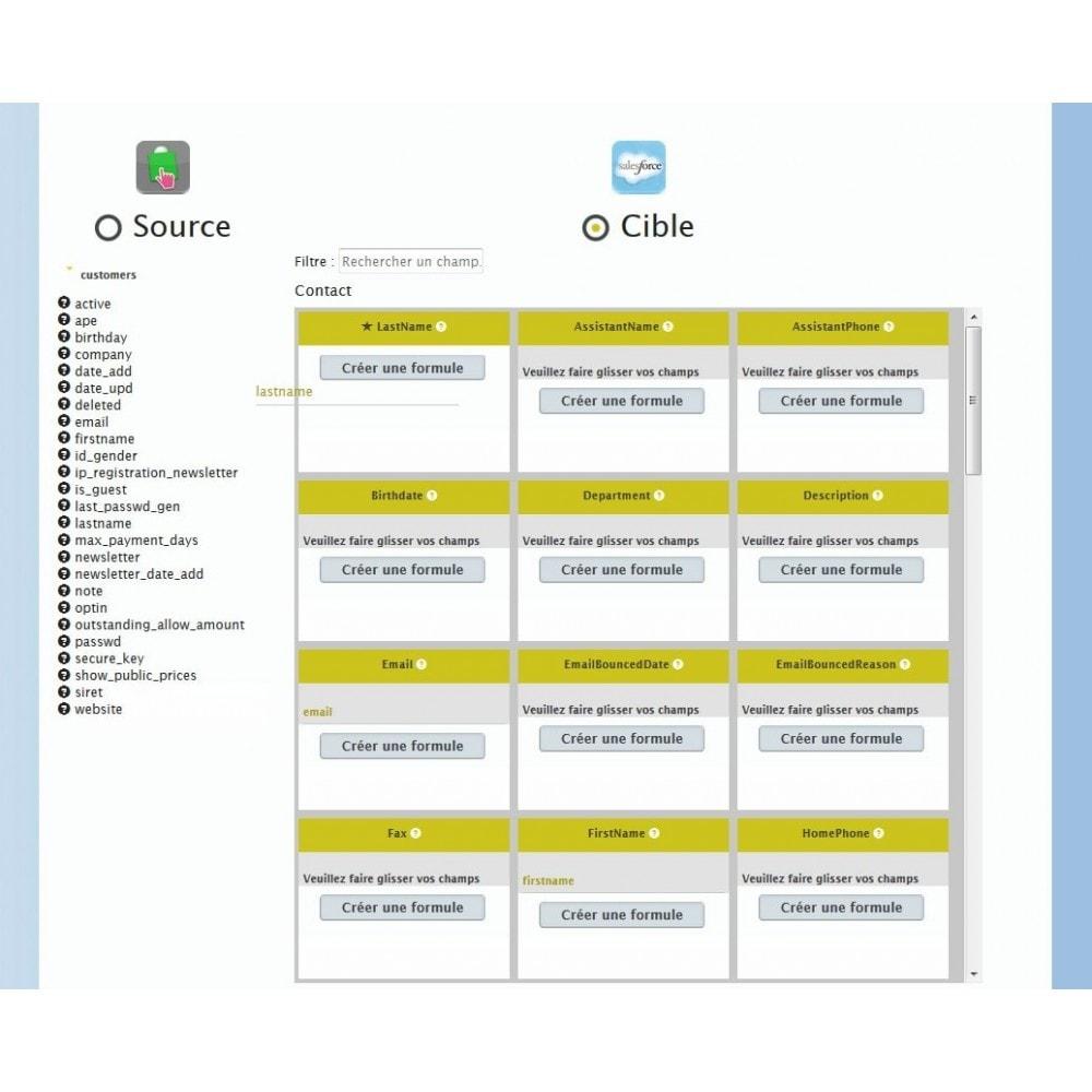 module - Connexion à un logiciel tiers (CRM, ERP...) - Myddleware - 3