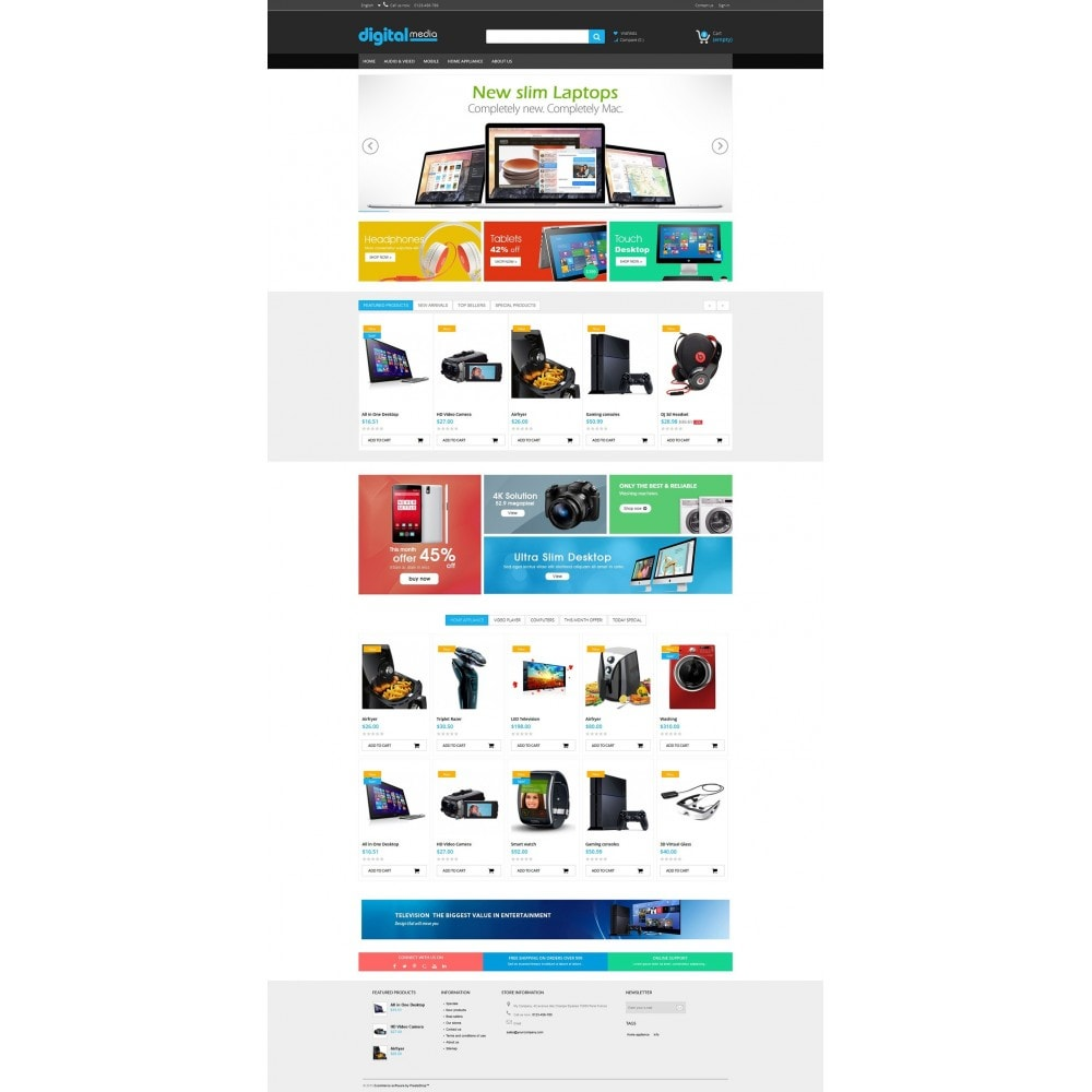Digitalmedia Multi-purpose HTML5