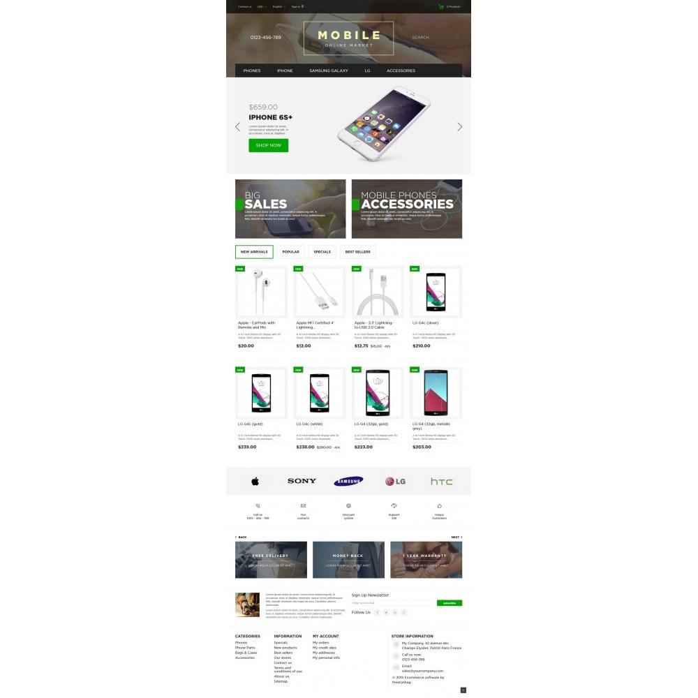Mobile Online Market 1.6 Responsive