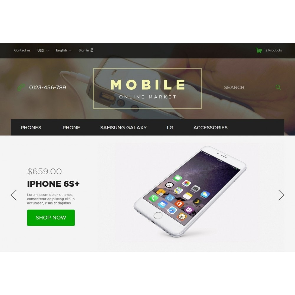 theme - Elektronica & High Tech - Mobile Online Market 1.6 Responsive - 3