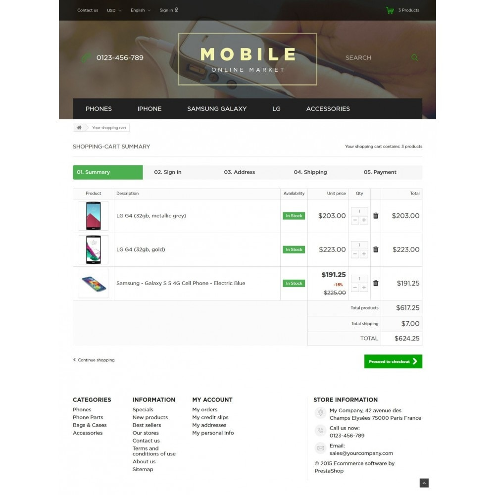theme - Elektronika & High Tech - Mobile Online Market 1.6 Responsive - 8