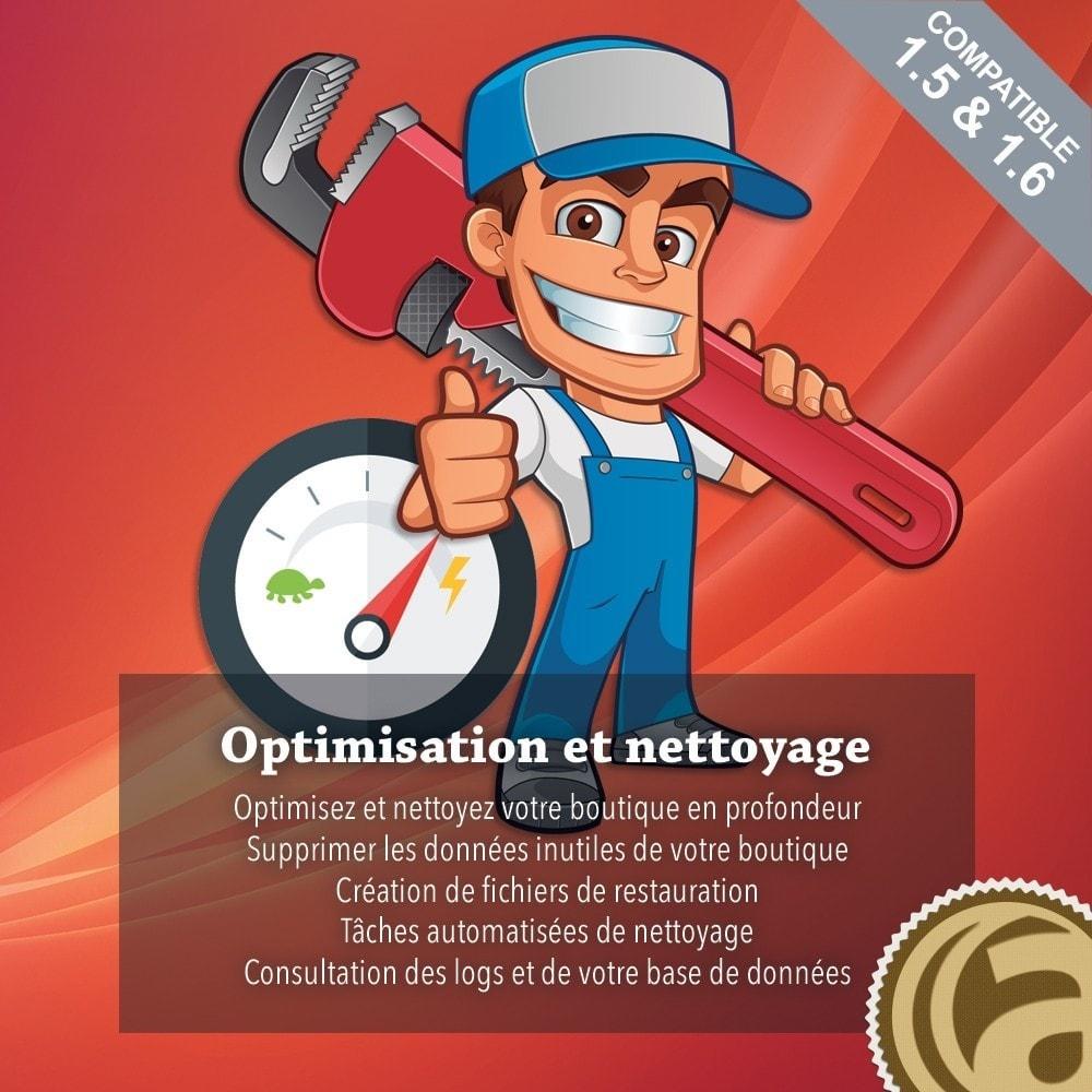 module - Performance du Site - Optimisation et nettoyage - 1