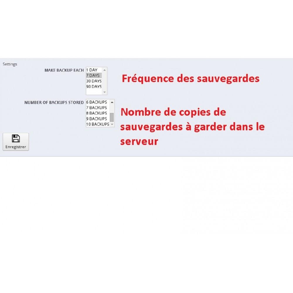 module - Migration de Données & Sauvegarde - DATABASE AUTO BACKUP - 1
