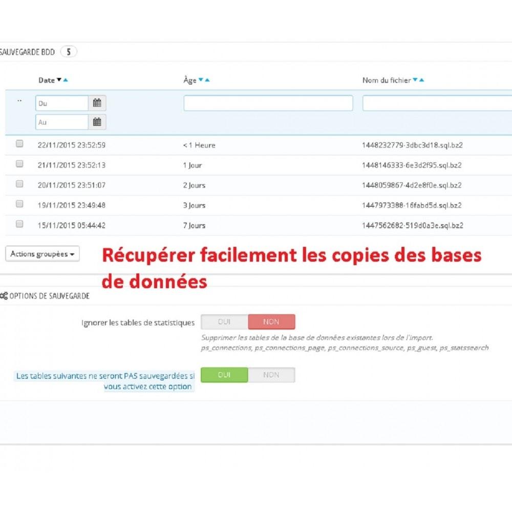module - Migration de Données & Sauvegarde - DATABASE AUTO BACKUP - 2