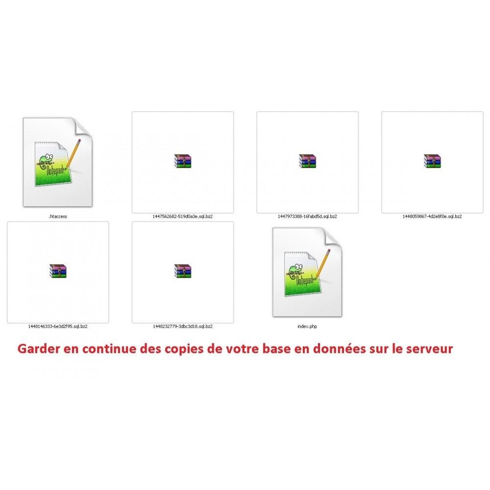 module - Migration de Données & Sauvegarde - DATABASE AUTO BACKUP - 3