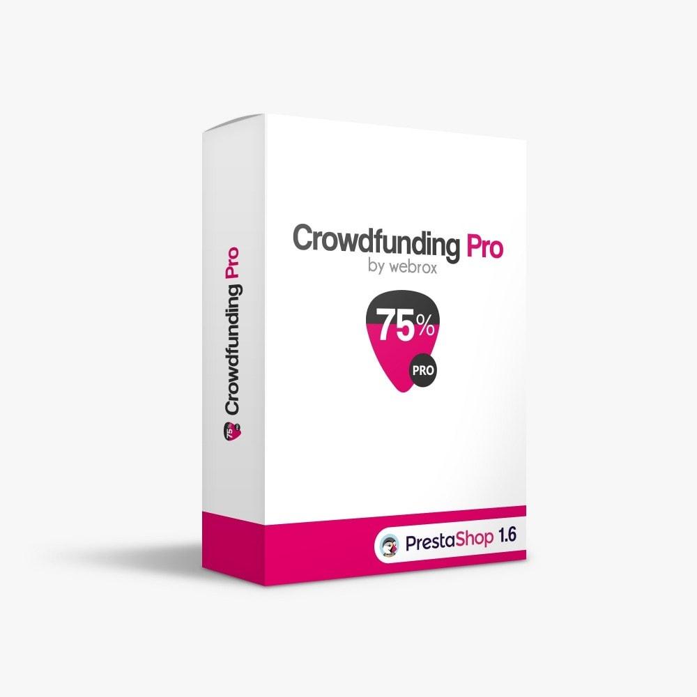 module - Altri Metodi di Pagamento - Crowdfunding Pro - 1