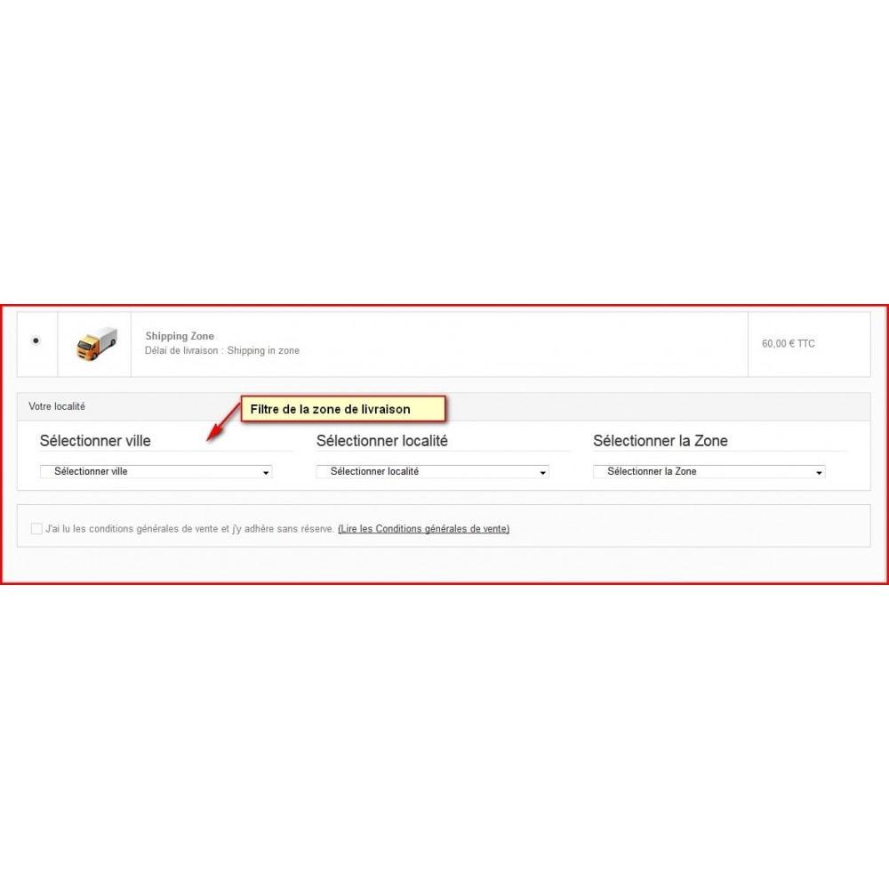 module - Point Relais & Retrait en Magasin - Livraison personnalisée pour zones non indexées - 3