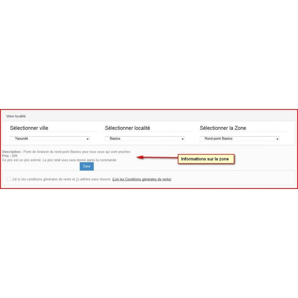 module - Point Relais & Retrait en Magasin - Livraison personnalisée pour zones non indexées - 4