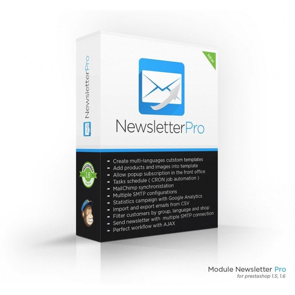 module - Рассылка новостей и SMS - Newsletter Pro - 1