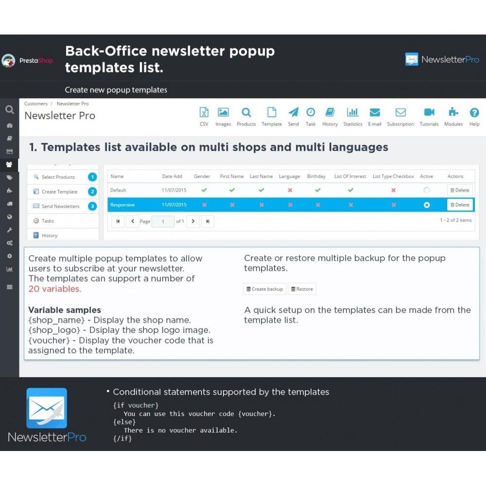 Module   Newsletter U0026 SMS   Newsletter Pro   28