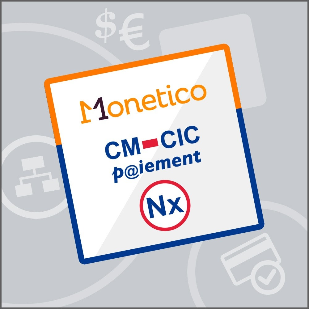 module - Creditcardbetaling of Walletbetaling - CM-CIC / Monetico Payment in several instalments (Nx) - 1