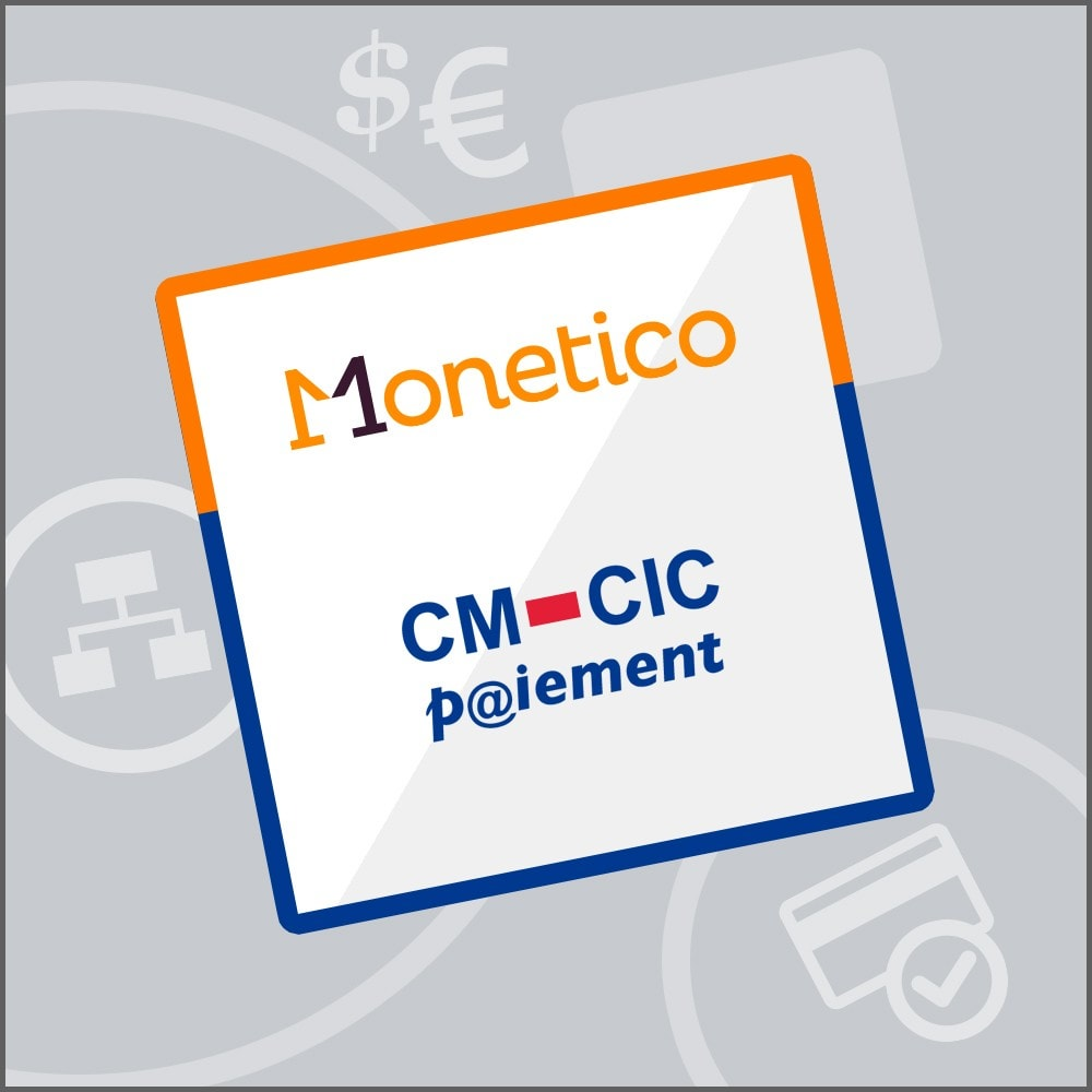 module - Paiement par Carte ou Wallet - CM-CIC / Monetico Paiement en une fois - 1