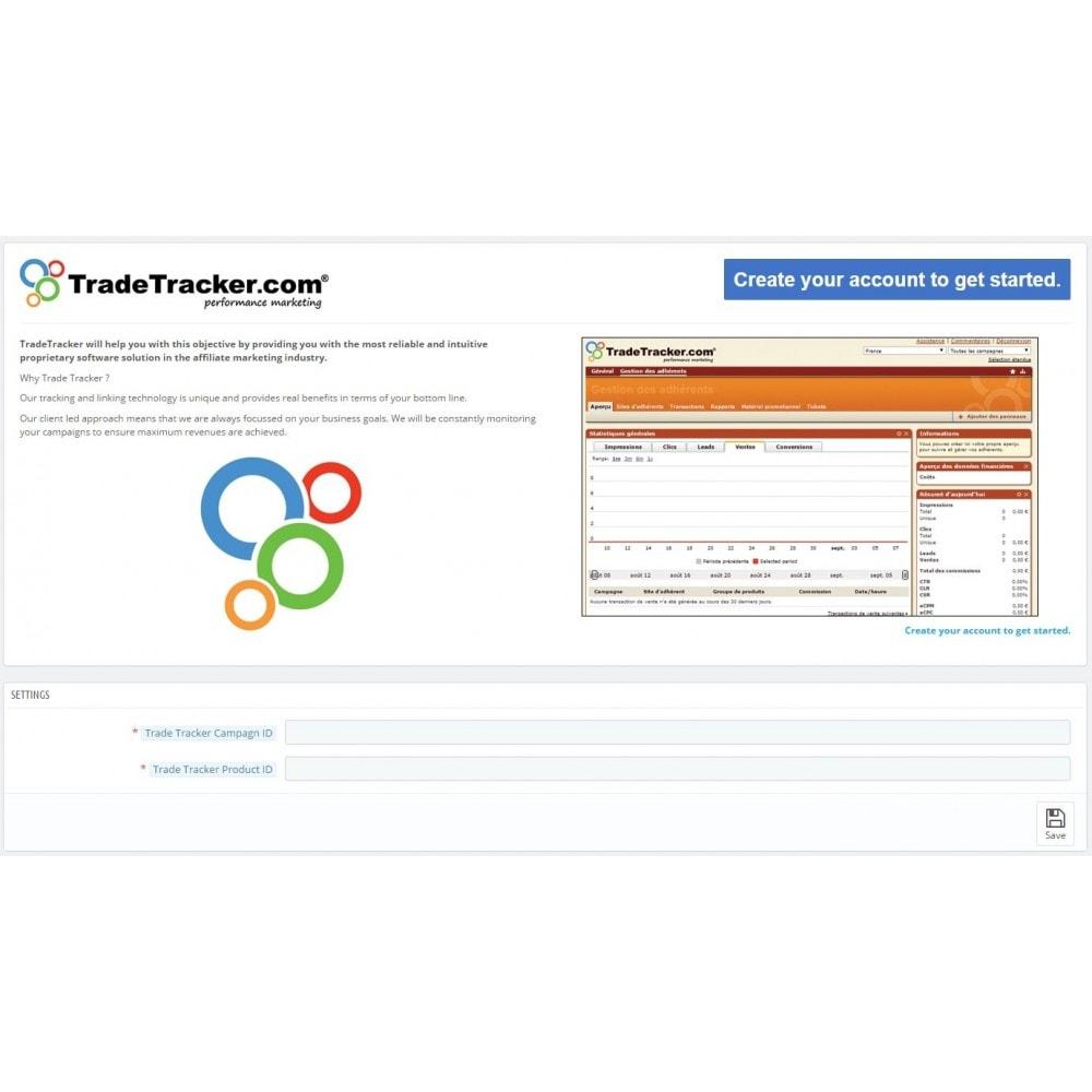 module - Analyses & Statistieken - TradeTracker Conversions - 1