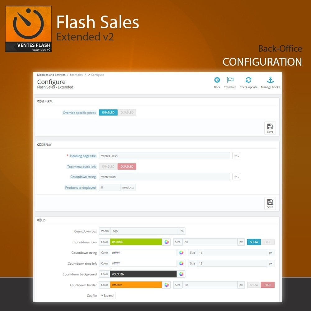 module - Flash & Private Sales - Flash Sales - Extended - 2