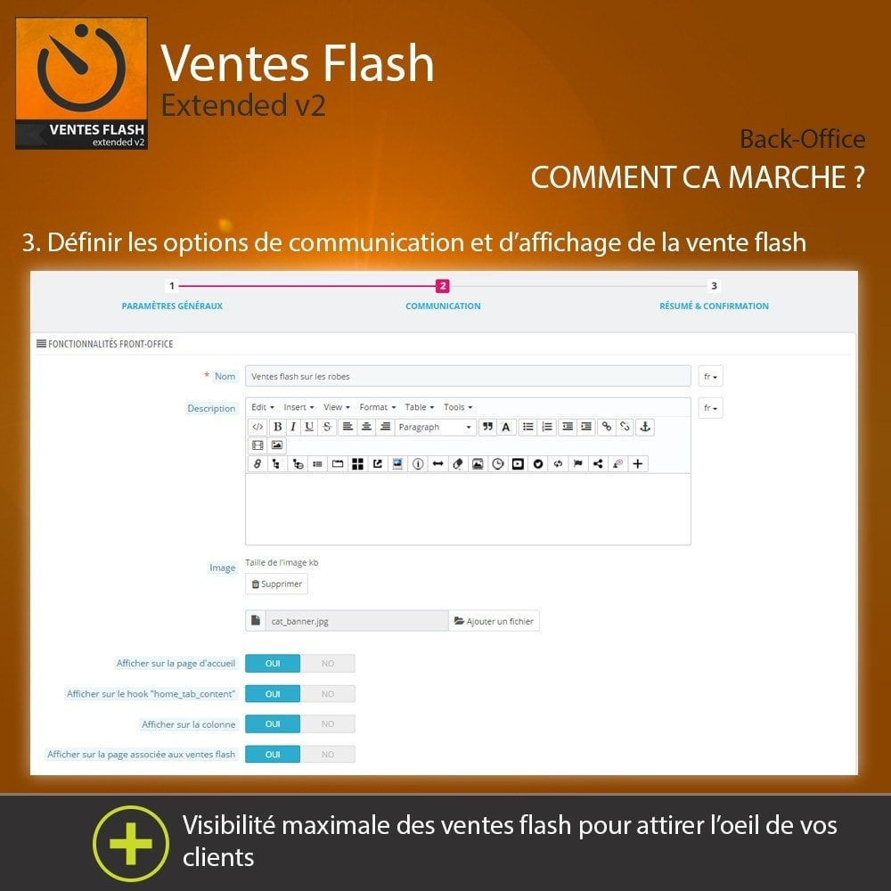 module - Ventes Flash & Ventes Privées - Ventes Flash - Etendu - 4