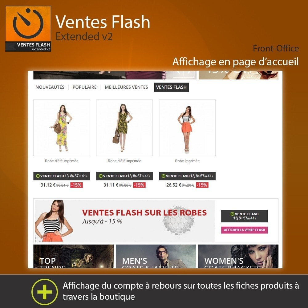 module - Ventes Flash & Ventes Privées - Ventes Flash - Etendu - 6