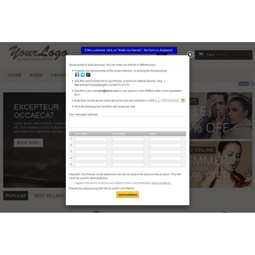 module - Referral & Loyalty Programs - All-in-one Rewards: loyalty, referral, affiliation... - 10
