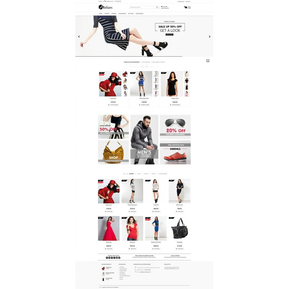 theme - Fashion & Shoes - Atelier Fashion Multipurpose HTML5 - 15