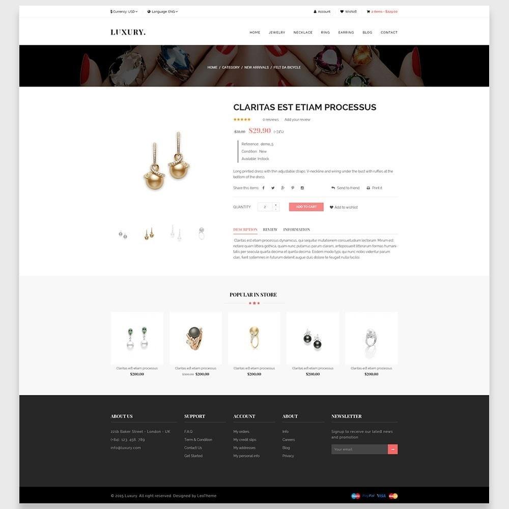 theme - Joalheria & Acessórios - Leo Luxury - 5
