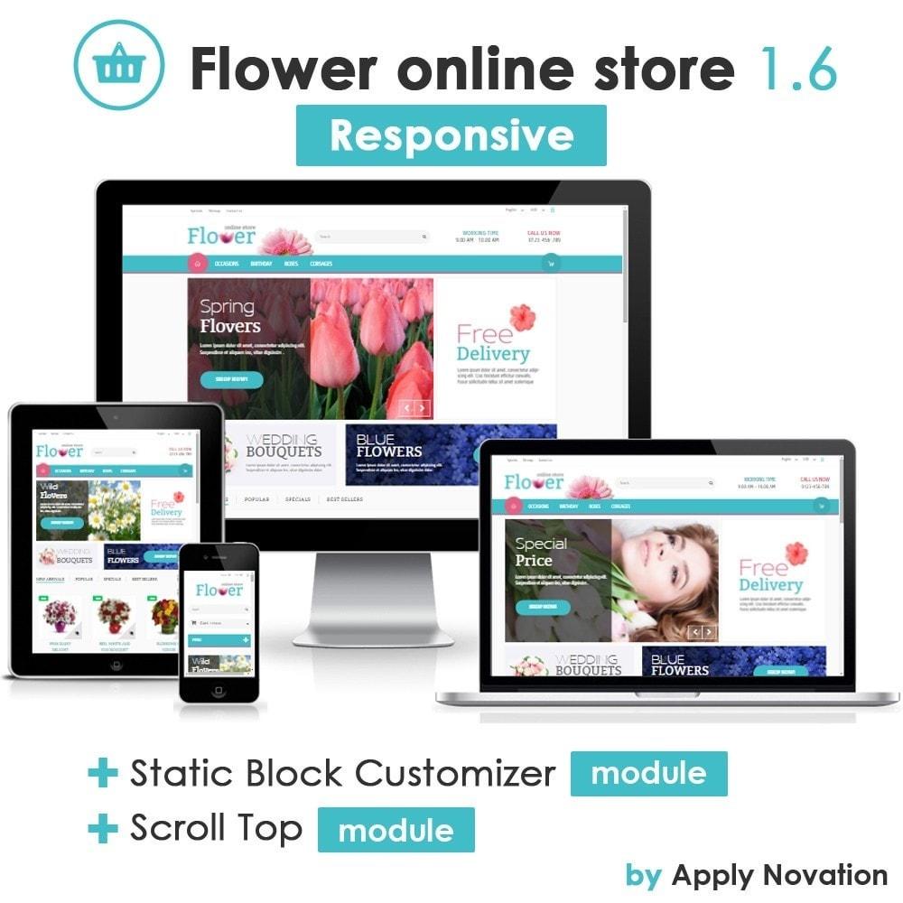 Flower Online Store 1.6 Responsive