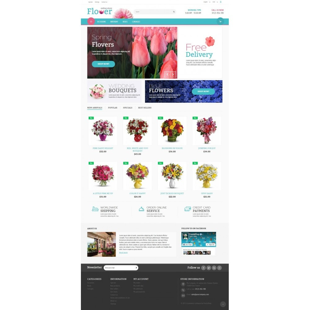 theme - Gifts, Flowers & Celebrations - Flower Online Store - 2