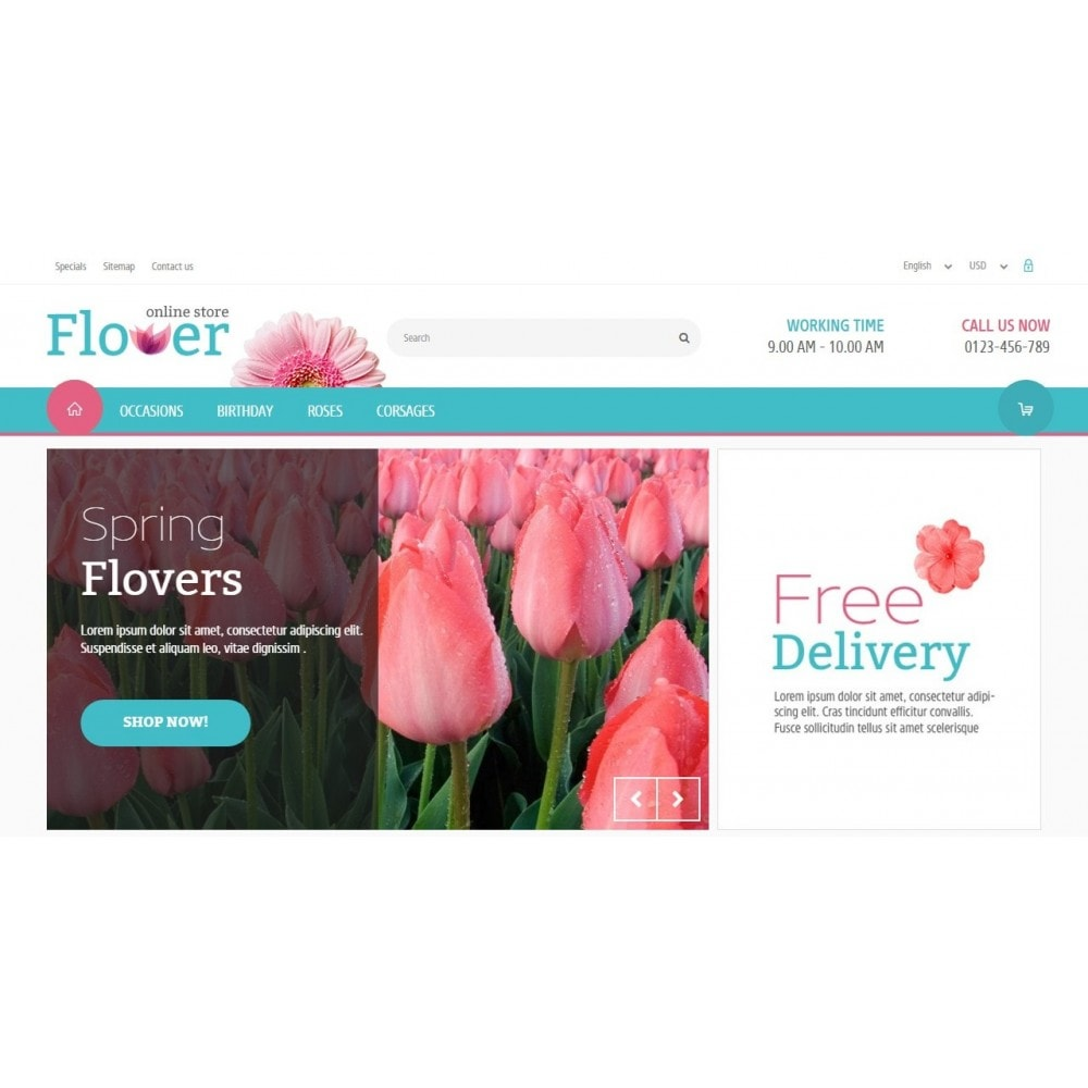 theme - Gifts, Flowers & Celebrations - Flower Online Store - 3