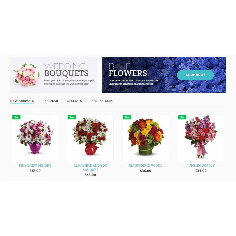theme - Gifts, Flowers & Celebrations - Flower Online Store - 4