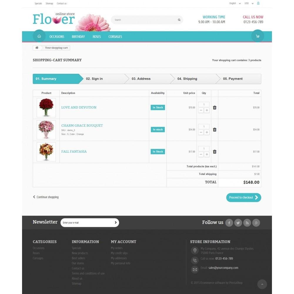theme - Geschenke, Blumen & Feiern - Flower Online Store - 8