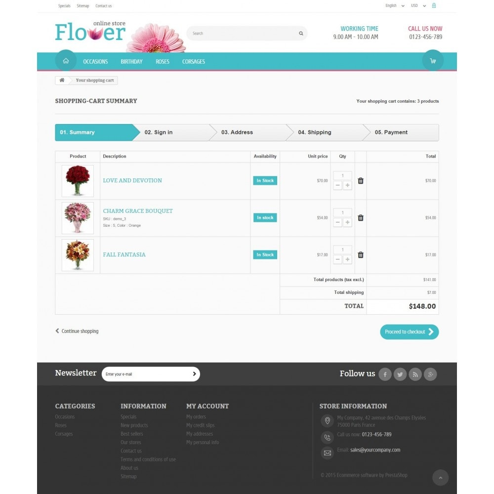 theme - Regali, Fiori & Feste - Flower Online Store - 8