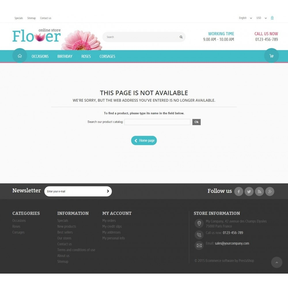theme - Gifts, Flowers & Celebrations - Flower Online Store - 9