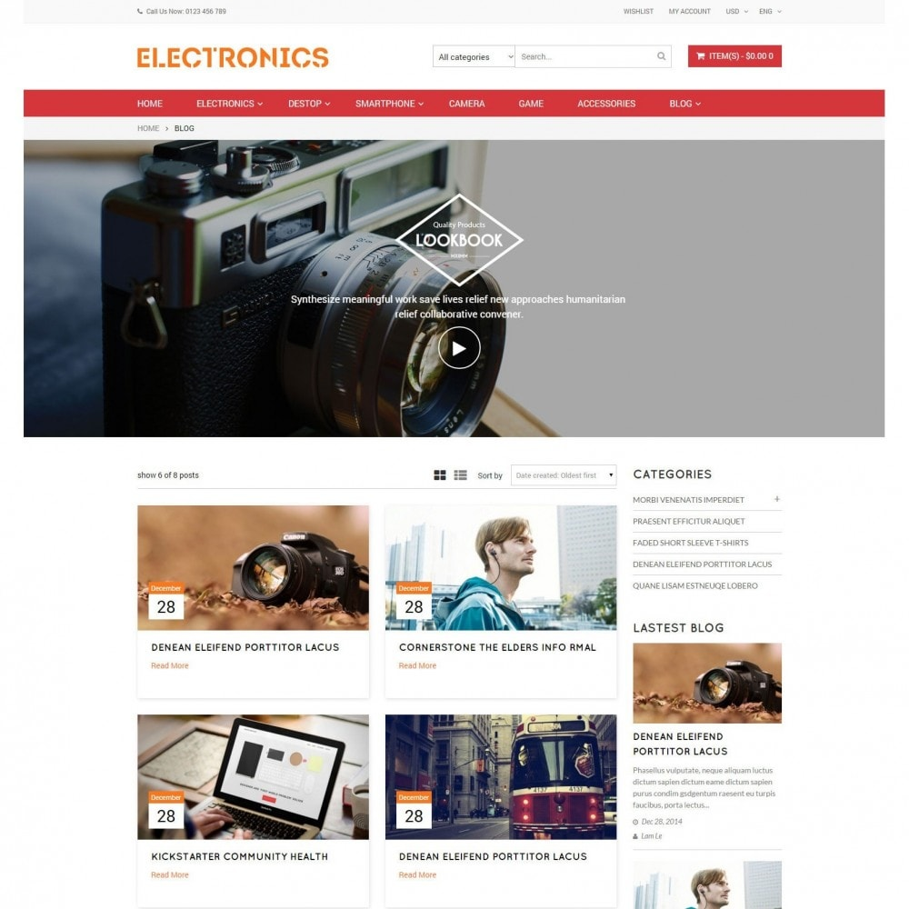 theme - Elektronica & High Tech - Appliances & Electronics Responsive  Store - 3